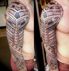 Full Sleeve Tattoos #tattoodesigns #tattooideas #fullsleevetattoos http://tattoodesignsdo.com/full-sleeve-tattoos/