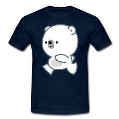 Laufender Niedlicher Eisbarbaby- Cheerful Madness! T-Shirt | Spreadshirt | ID: 25214490