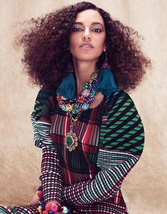 Aveda Culture Clash Spring/Summer Collection 2014 - Curly Hair Beauty
