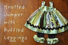 Free knotted dress tutorial