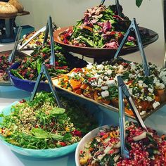 Ottolenghi Spitalfields - cafe cum catering service with great choice of vegetarian / vegan options