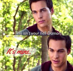 "Kai was my favorite villain on TVD, followed by Katherine and Klaus. Huh, must be a ""K"" thing..."