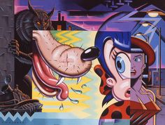 It's impossible not to be impressed by the work of world-renowned artist Todd Schorr. I remember seeing my first Schorr piece in person, it literally stopp