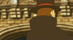 Because no Professor Layton board is complete without a gif of him pointing Layton Brothers Mystery Room, Fandom Games, True Gentleman, In This World, Video Games, Phoenix Wright, Ds Games, Actors, Lady