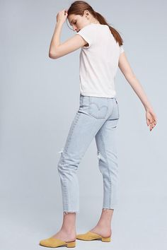 Slide View: 4: Levi's Wedgie Icon Ultra High-Rise Jeans