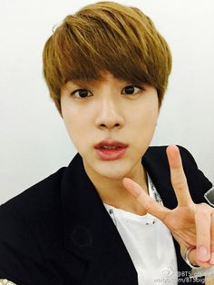Jin - BTS_Official weibo [150906] | btsdiary