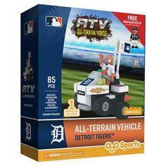 MLB Detroit Tigers Oyo Atv Toy Vehicle - 85pcs