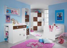 babyzimmer susann babybett alpinweiß - eiche sterling- rauch möbel ... - Kinderzimmer Nussbaum Weis