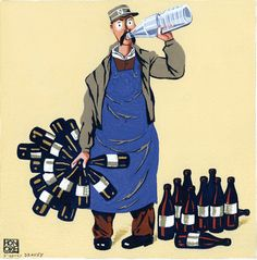Nectar le livreur de vin Nicolas Le vin s'offre une expo à la Galerie Glénat à Paris