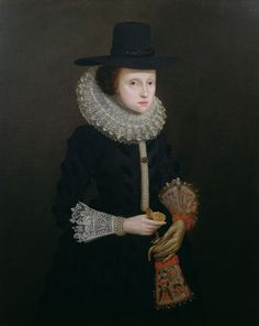 Hester Crispe, 17th century, collection Richard Philp.