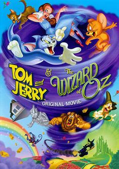 Shop Tom and Jerry & The Wizard of Oz Discs] [Blu-ray/DVD] at Best Buy. Find low everyday prices and buy online for delivery or in-store pick-up. Wizard Of Oz Dvd, Tom And Jerry Movies, Grey Delisle, Rob Paulsen, William Hanna, Cowardly Lion, Disney Toms