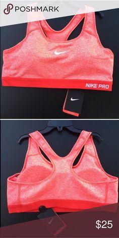 Nike pro women's sport bra SZ L new Nike pro women's sport bra SZ L new Nike Intimates & Sleepwear Bras