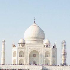 #mytajmemory The Taj In All Its Glory  #TajMahal #India by jillmlot #IncredibleIndia #tajmahal