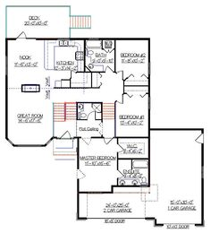 Modified split level home plans house design ideas Modified bi level plans