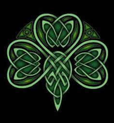Celtic Shamrock Photo: This Photo was uploaded by Jetta_Rose. Find other Celtic Shamrock pictures and photos or upload your own with Photobucket free im. Celtic Symbols, Celtic Art, Celtic Knots, Celtic Music, Mayan Symbols, Egyptian Symbols, Ancient Symbols, Celtic Patterns, Celtic Designs