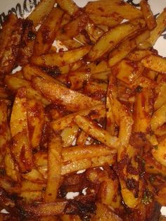 Spicy chips masala