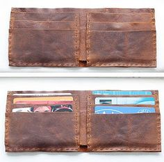 leather wallet.  love.