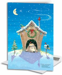 Gary Patterson Cats christmas | Veterinary Holiday Greeting Cards | SmartPractice Veterinary
