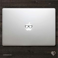 Hey, I found this really awesome Etsy listing at http://www.etsy.com/listing/101163437/geeky-glasses-macbook-decal-macbook