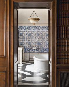 Palais en Andalousie, décorateurs Studio Peregalli © Vincent Leroux (AD n°102 juillet-août 2012)
