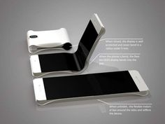 #Samsung promises foldable smartphones by 2015.
