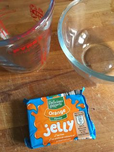Sensory Play With Jelly - www.adizzydaisy.com Liquid Measuring Cup, Measuring Cups, Sensory Play, Preserves, Delicious Desserts, Jelly, Preserve, Marmalade, Preserving Food