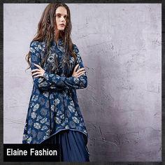 【楽天市場】送料無料【即納】【オリジナルデザイン】エスニック系/チャイナ風デザインチュニック/タッセルフリンジ/変形プリント柄ブラウス【全2色】:elaine fashion