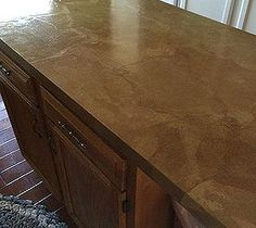 Brown paper countertop. With about 6 coats of polyurethane.
