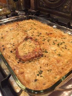 Mama's Pork Chop and Rice casserole