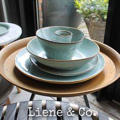 De hele set is nu compleet! Kom de verschillende kleuren servies van Kitchen Trend bekijken bij Liene & Co!