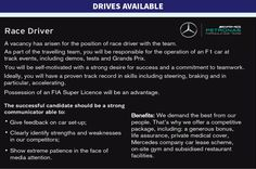 Mercedes Put an Ad in a Magazine Looking For a Replacement F1 Driver  - RoadandTrack.com
