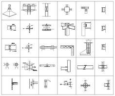 Steel Structure Details V1 – CAD Design   Free CAD Blocks,Drawings,Details