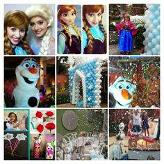 Recreação infantil tema Frozen analu@analufrsta.com.br