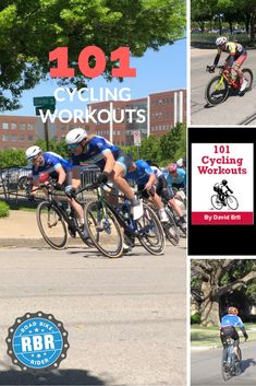 Want to become a faster cyclist? Bored with your cycling workout routine? Check out this book of 101 cycling workouts to get you riding strong.  #cyclingtips #cyclingadvice #cyclingmyths #cyclingequipment #cycling #bicycling #bicycle #thecyclingbug