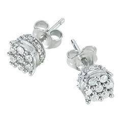 Radiance Diamond Earrings - The Danbury Mint