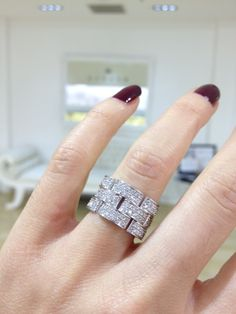 Diamond dress ring by Kalfin Jewellery