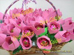Önce Okul Öncesi Ekibi Forum Sitesi - Biz Bu İşi Biliyoruz - Tekil Mesaj gösterimi - çiçekli şekerler(karne hediyesi)