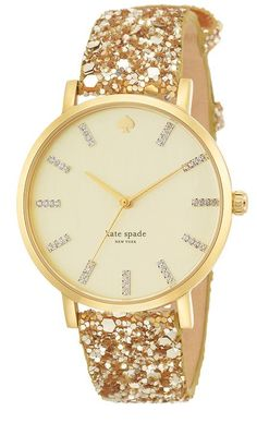 Shop Women's Kate Spade Watches on Lyst. Track over 3341 Kate Spade Watches for stock and sale updates. Ring Armband, Kate Spade Watch, All That Glitters, Diamond Are A Girls Best Friend, Marchesa, Smartwatch, Gold Glitter, Gold Sparkle, Gold Sequins