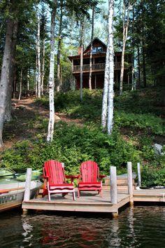 chalet habitable en bois, maison dans la foret, vie champetre, maison dans la foret vert