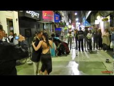 Argentina - Tango street dance on Avenue Florida part2 - South America part 40 - Travel Video HD