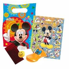 Fun Party Supplies - Children's Party Goods Mickey Mouse Clubhouse Filled Party Bag EACH - Mickey Mouse Party Supplies - Toddler Party - KIDS PARTY Children's party goods for boys and girls birthdays in Essex UK Mickey Mouse Clubhouse, Mickey Mouse Birthday, Birthday Fun, Birthday Celebration, Birthday Ideas, Birthday Parties, Mickey Party Decorations, Mickey Mouse Party Supplies, Party Goods