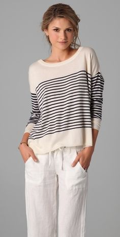 If only I could afford it!  But, if I paid this much for a sweater, I would be afraid to wear it!!