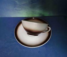 German Porcelain Bavaria Seltmann Weiden Western Germany Tea Coffee Cup Saucer #SeltmannWeiden