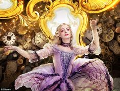 Good guy: Anne Hathaway reprises her role as the White Queen