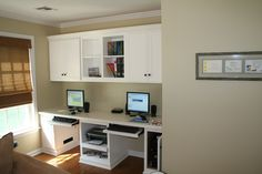 Custom Made Painted Home Office