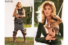 Exclusive: Carine Roitfeld Shoots Kate Upton, Tiger Cubs - The Cut