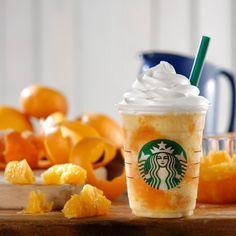 クラッシュ オレンジ フラペチーノ® - 真夏のリゾートを夢想して | スターバックス コーヒー オフィシャルブログ : Starbucks Coffee Blog