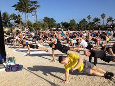 Coaches trip to the Bahamas provided by Beachbody
