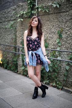 Vestido: Forever 21   Camisa: H&M   Bota: Zara   Pulseira: Kafé Acessórios