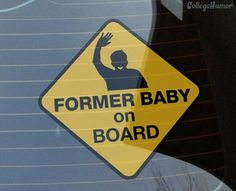 Former baby on board